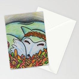 Mystical Fox Stationery Cards