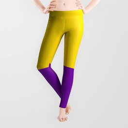 Intersex Flag Leggings