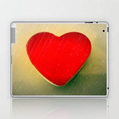 Rain on my heart Laptop & iPad Skin