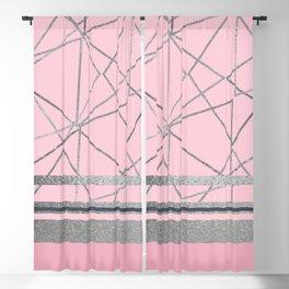 Silverdo: Blush Pink Blackout Curtain