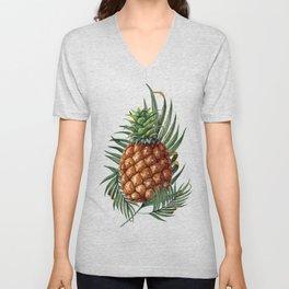 King Pineapple Unisex V-Neck