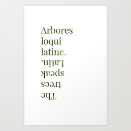 Cabeswater Quote Art Print