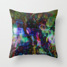 Agfa Mess Throw Pillow