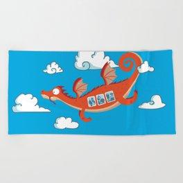 Dragonia Air Beach Towel