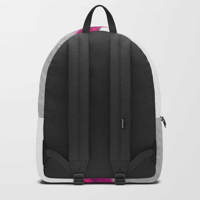 Pink Crystal Agate Backpack