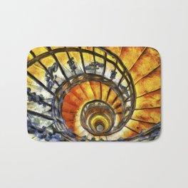 Spiral Staircase Van Gogh Bath Mat