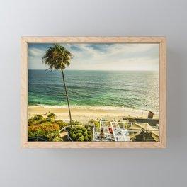 Fun Summer 5530 Laguna Beach Framed Mini Art Print