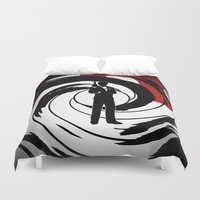 bond Duvet Covers featuring JAMES BOND by alexa