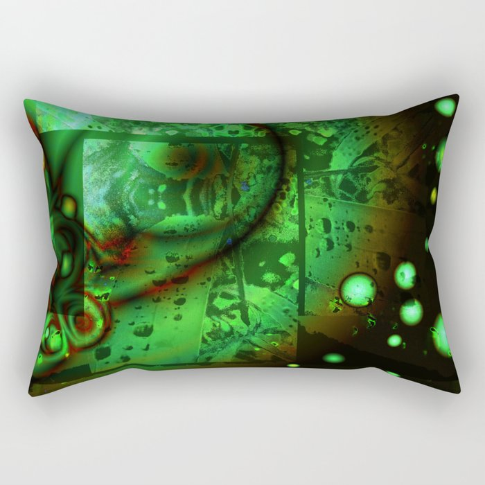 Viscous Life Rectangular Pillow