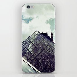 Louvre Pyramid I iPhone Skin