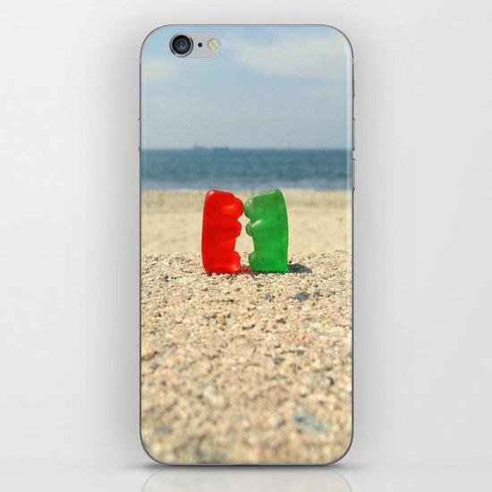 Gummy Bear Beach Kiss iPhone & iPod Skin