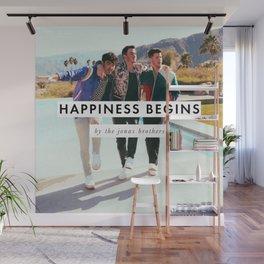 JONAS BROTHERS HAPPINESS BEGINS TOUR DATES 2020 ASAMJAWA Wall Mural