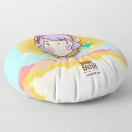 Kawaii heaven Floor Pillow