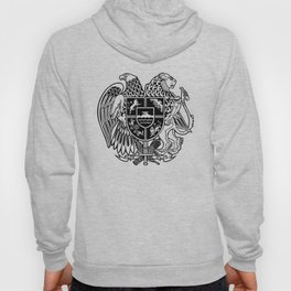 ARMENIAN COAT OF ARMS - Black Hoody