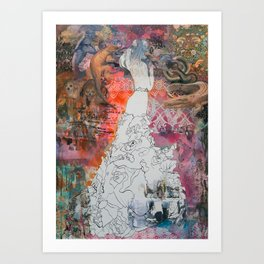 The Engagement Art Print