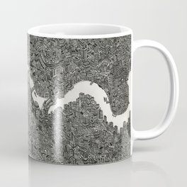 London map drawing ink pen Coffee Mug