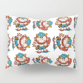 oni prepare fight Pillow Sham