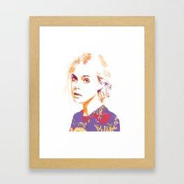 Hush Child, Don't make a sound Framed Art Print