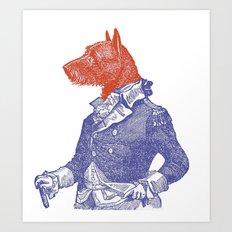General Dog Art Print