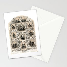 Our Generals -- Union Civil War Stationery Cards