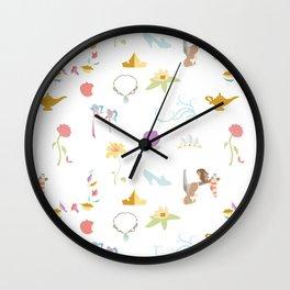 Princess Basics Wall Clock