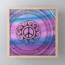 Peace II  Framed Mini Art Print