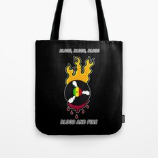 Blood and Fire Reggae Record Tote Bag