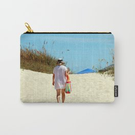 Time Away At The Beach Carry-All Pouch