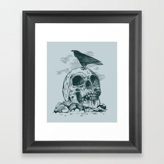 Raven's Cliff Framed Art Print