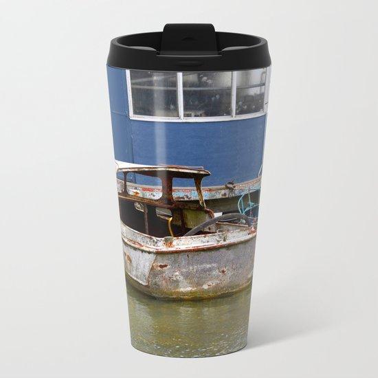 Still afloat Metal Travel Mug