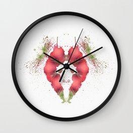 Inkdala XXV - Psychology Art Wall Clock