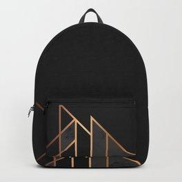 Black & Gold 035 Backpack