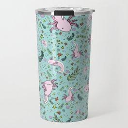Axolotl Travel Mug