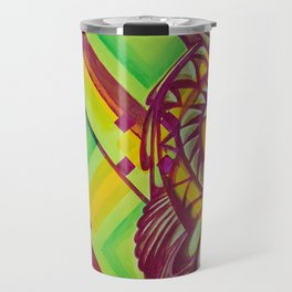 Green Owl Travel Mug