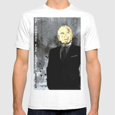 UNREAL PARTY 2012 C3PO Z6PO STAR WARS White MEDIUM Mens Fitted Tee