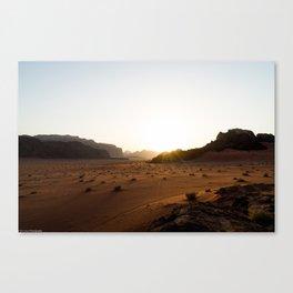 Living Sands Canvas Print