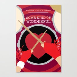 80s TEEN MOVIES :: SOME KIND OF WONDERFUL Canvas Print