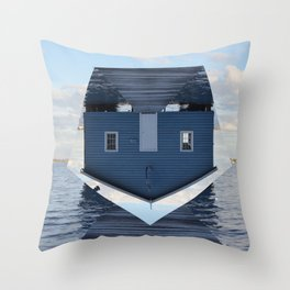Down Under // Boatshed. Throw Pillow