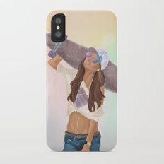 gone to the beach iPhone X Slim Case