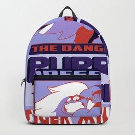 Purple Puma & Tiger Millionaire! Backpack