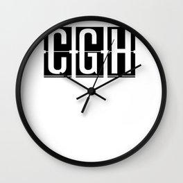 CGH - Sao Paulo - Brazil - Airport - Airport Code Souvenir or Gift Design  Wall Clock
