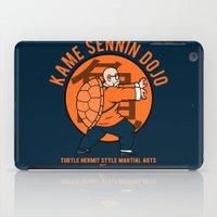 dbz iPad Cases featuring Kame Dojo by pigboom el crapo