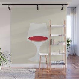 Tulip Chair by Eero Saarinen Wall Mural