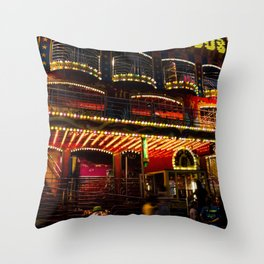King's Circus Throw Pillow