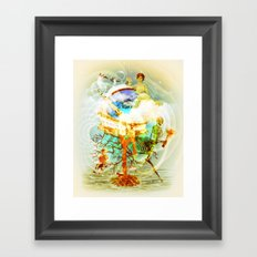 Until the End of Time Framed Art Print