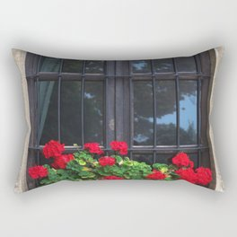 Flower Photography by Teo Zac Rectangular Pillow