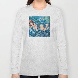 Water Splash Long Sleeve T-shirt