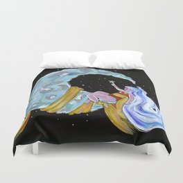 Child of the moon Duvet Cover