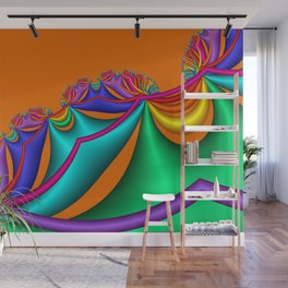 whirls of color -03- Wall Mural
