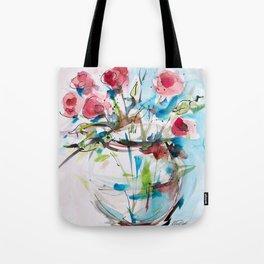 Roses (sketch) Tote Bag